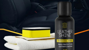 Профессиональные средства для ухода за кожей автомобиля